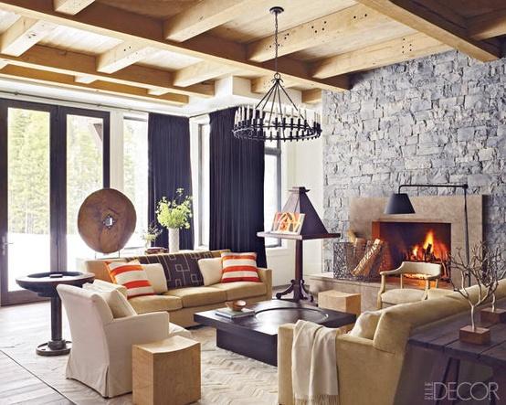 Ski lodge design amy hirschamy hirsch for Modern lodge style home design