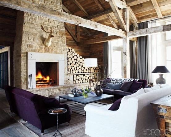 Ski lodge design social tuna for Modern home decor llc