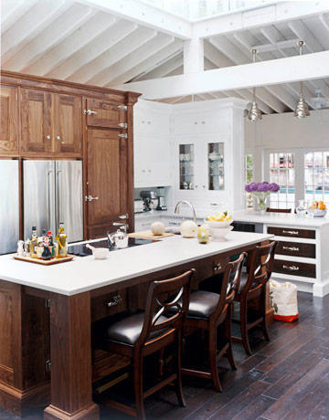 Christopher Peacock S Kitchen Design With Caesarstone