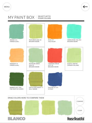 house beautiful's paint color app - social tuna