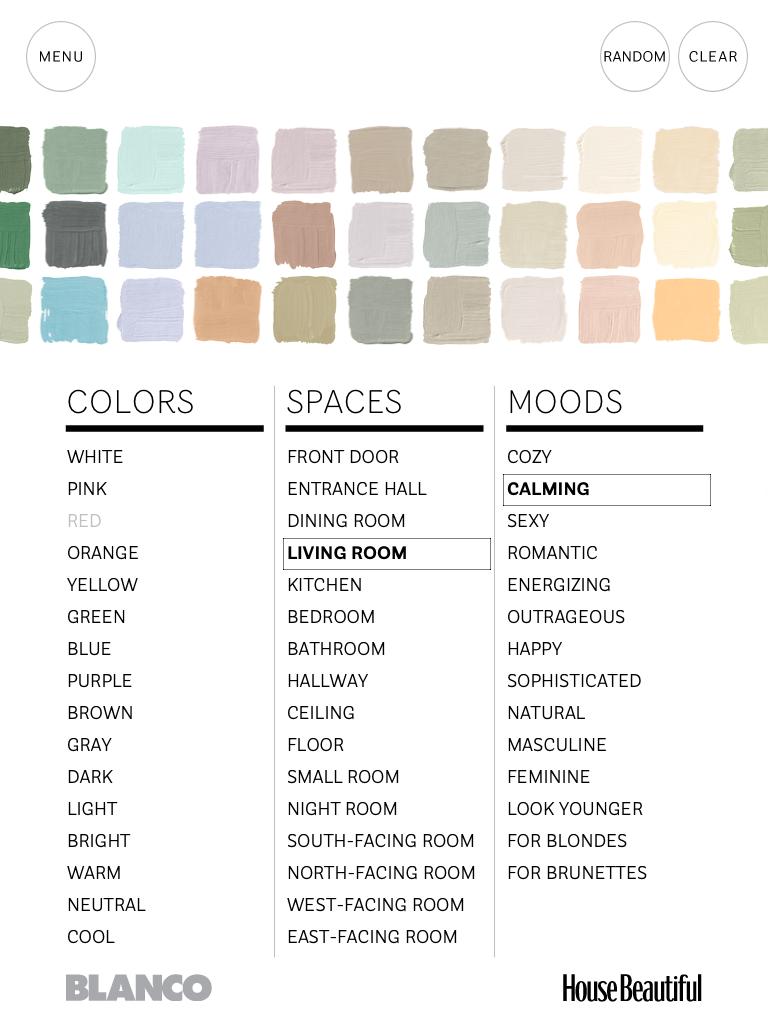 House Beautifuls Paint Color App Social Tuna