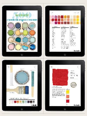 House Beautiful S Paint Color App Social Tuna